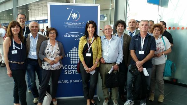 ANCHE CONFCOMMERCIO ASCOM LUGO ALL'ASSEMBLEA GENERALE DELL'8 GIUGNO 2015 A MILANO