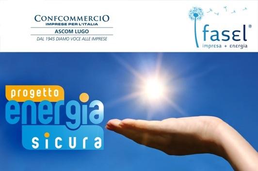 ENERGIA SICURA LUCE E GAS: NUOVA CONVENZIONE CONFCOMMERCIO ASCOM LUGO