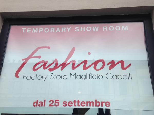 TEMPORARY SHOP CONFCOMMERCIO: OPPORTUNITA
