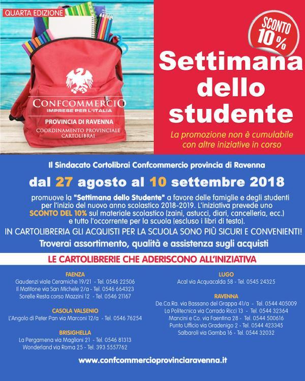SETTIMANA DELLO STUDENTE 2018